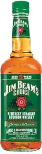 Jim Beam Bourbon Choice Aged 5 Years 1.00l